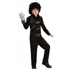 Jaqueta Michael Jackson Bad Infantil