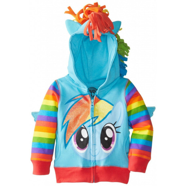 Jaqueta My Little Pony Rainbow Dash Infantil Luxo