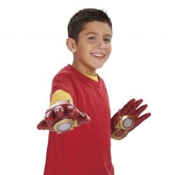 Luvas Homem de Ferro Eletrônica com Som e Luz