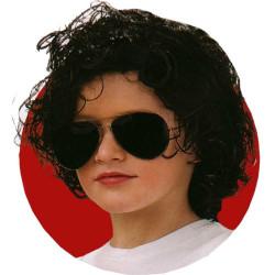 Peruca do Michael Jackson Luxo Infantil