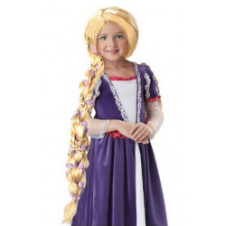 Peruca Infantil Rapunzel Enrolados Disney