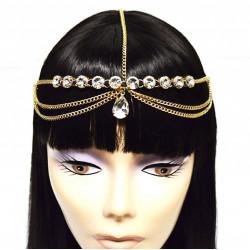 Jóia para a Cabeça Rainha Cleópatra