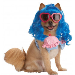 Fantasia para Cachorro Cupcake Katy Perry