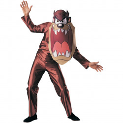 Fantasia Adulto Taz Diabo da Tasmânia Looney Tunes Luxo