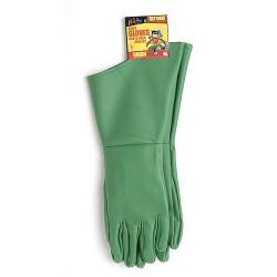 Luvas Verde Aquaman Adulto Luxo