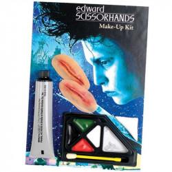 Maquiagem de Edward Mãos de Tesoura