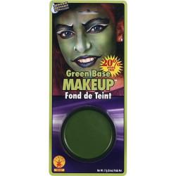 Maquiagem verde para Incrível Hulk Bruxa