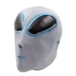 Máscara de Alien Extraterrestre Cinza