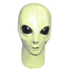 Máscara de Alien Extraterrestre Verde