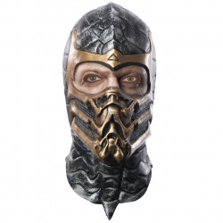 Máscara Masculina Scorpion Mortal Kombat
