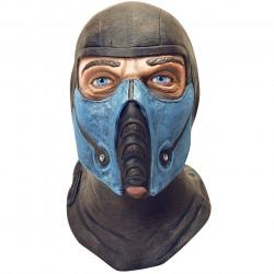 Máscara Masculina Sub Zero Subzero Mortal Kombat