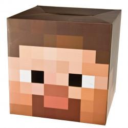 Máscara Minecraft Steve Infantil