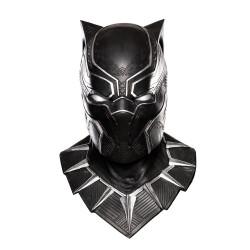 Máscara Pantera Negra Guerra civil Adulto Luxo