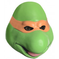 Máscara Tartaruga Ninja Michelangelo Vinil