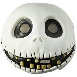 Máscara The Nightmare Before Christmas Jack Skellington Adulto Latéx