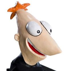 Máscara Vinil Phineas de Phineas e Ferb Luxo