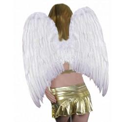 Asa Anjo Branca Adulto Luxo