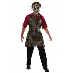 Avental Leatherface Adulto Luxo