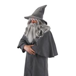 Barba e Bigode Gandalf Hobbit Adulto