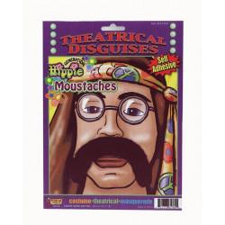 Bigode Hippie anos 70