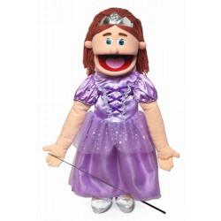 Boneco Fantoche Ventríloquo Princesa Luxo