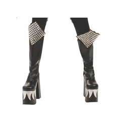 Botas Kiss Gene Simmons Demon Luxo Adulto