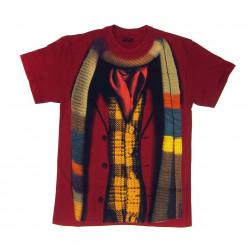 Camiseta Casaco e Cachecol Doctor Who
