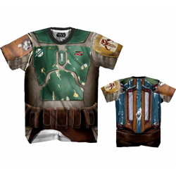 Camiseta do Boba Fett Adulto Atlética