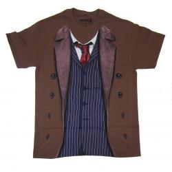 Camiseta Homem de Casaco Doctor Who