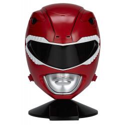 Capacete Power Rangers Mighty Morphin Vermelho