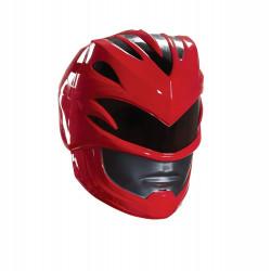 Capacete Power Rangers Mighty Morphin Vermelho Luxo