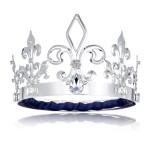 Coroa de Rei Luxo Prata
