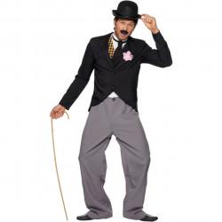 Fantasia Adulto Charlie Chaplin Luxo