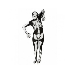 Fantasia Adulto Esqueleto Spandex