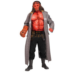Fantasia Adulto Hellboy Luxo Elite
