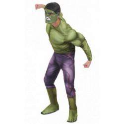 Fantasia Adulto Incrível Hulk com Músculo Clássica