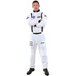 Fantasia Adulto Macacão de Astronauta Luxo