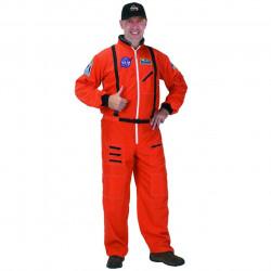Fantasia Adulto Macacão de Astronauta Luxo Vermelho