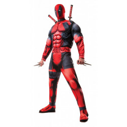 Fantasia Adulto Masculina Deadpool Luxo