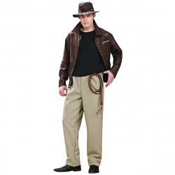 Fantasia Adulto Masculina Luxo Indiana Jones