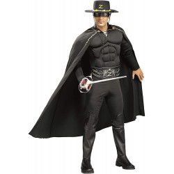 Fantasia Adulto Masculina Zorro Don Juan Luxo