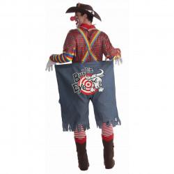 Fantasia Adulto Masculino Palhaço Cowboy