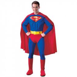 Fantasia Adulto Masculino Superman Super Homem
