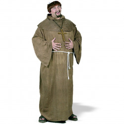 Fantasia Adulto Monge Medieval