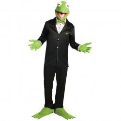 Fantasia Adulto Muppets Vila Sésamo Caco Kermit