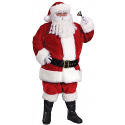 Fantasia Adulto Papai Noel Natal Elite Completa