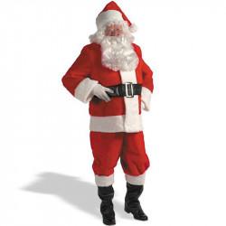 Fantasia Adulto Papai Noel Natal Luxo