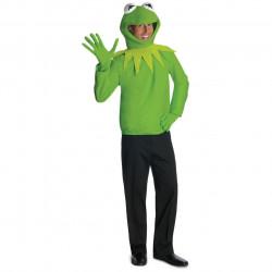Fantasia Adulto Sapo Muppets Vila Sésamo Caco Kermit