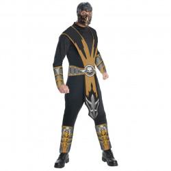 Fantasia Adulto Scorpion Mortal Kombat Clássica