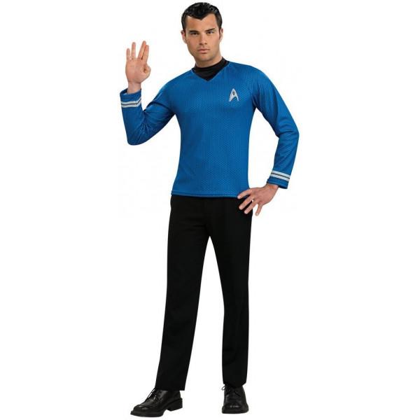 Fantasia Adulto Star Trek Azul Clássico